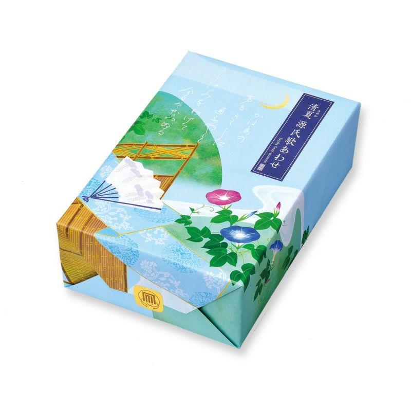 【夏季限定】清夏(さやか)源氏歌あわせ 中箱M (18袋入)