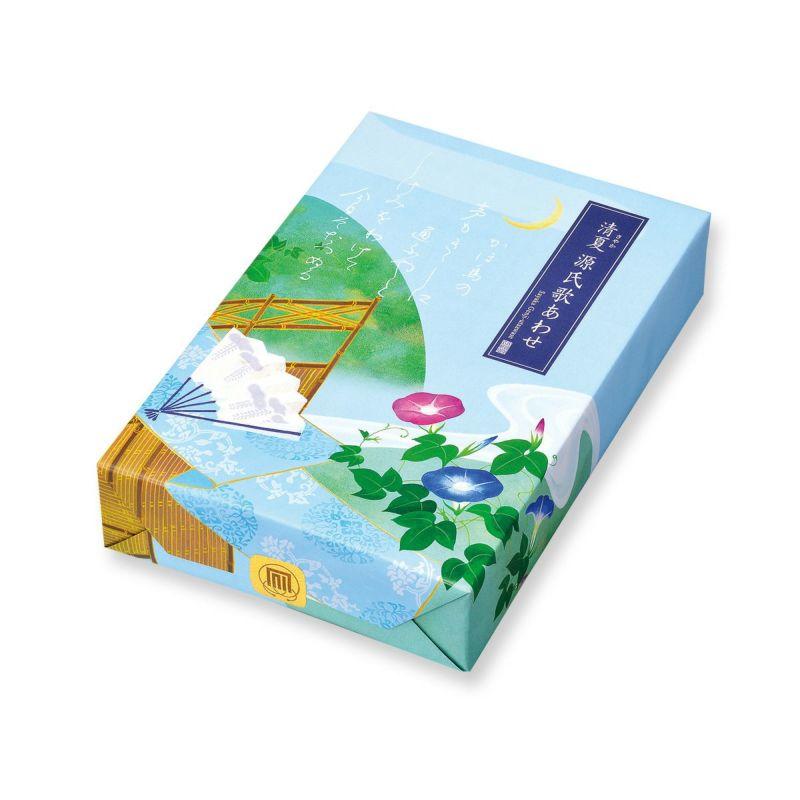 【夏季限定】清夏(さやか)源氏歌あわせ 化粧箱S (14袋入)