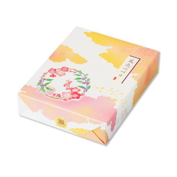 【冬季限定】人気銘菓3種と限定チョコあられ入り「風花つづり」化粧箱 K (20袋入り)
