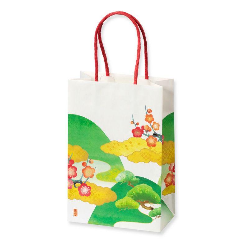 【冬季限定】源氏歌あわせ-化粧箱6袋入(専用手提げ付) (春2袋・秋2袋・夏1袋・冬1袋 計6袋)